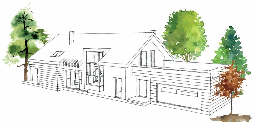 projekty domów jednorodzinnych kielce